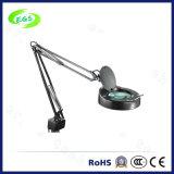 Het vouwen van de Overdrijvende Lamp van Magnifier van de Schemerlamp van het Bureau 5X