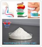 Polvo del CMC del sodio del grado de la crema dental del precio de fábrica
