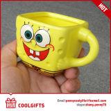 Mug porcelaine promotionnels avec forme de dessins animés pour cadeau