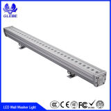 Alto brillo, el grado resistente al agua IP65, 3 años de garantía, 12W 24W 36W de luz de lavado de pared LED