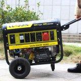 El bisonte (China) BS7500j (h) 6kw 6kVA la garantía pequeño MOQ de 1 año ayuna pequeño generador eléctrico de la salida con el silenciador
