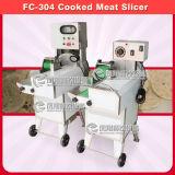 Cerdo cocinado utensilios de cocina de la máquina de cortar de la carne que rebana la cortadora SUS304