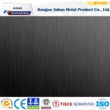 304 304L 430 Black Ti Surface Plaques décoratives en acier inoxydable