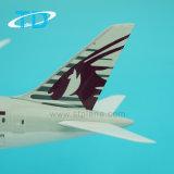 Подарок модели самолета B787-8 Катара 28cm совершенный для пилотов и сборников
