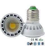 3/4/5 / 6W GU10 LED COB proyector de la lámpara