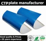 Plaque thermique de l'impression offset bleue PCT de couleur