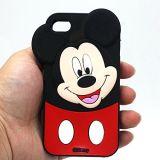iPhone 7/7 di cassa personalizzata più del silicone di figura di Mickey