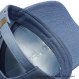 Kundenspezifische Stickerei-Schutzkappe Burshed Baumwollfördernde Sport-Stickerei-Jeans-Schutzkappe