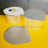 Оптовая устранимая чашка югурта PP пластмассы с крышкой