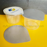 Großhandelswegwerfjoghurt-Cup des plastikpp. mit Kappe