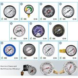 008 Typ Standarddruckanzeiger-Druck Gas oder Liqulid