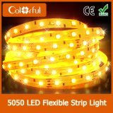 유연한 5m 300LEDs RGB DC12V SMD5050 LED 지구 빛