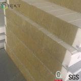 Pannelli a sandwich delle lane di roccia del materiale da costruzione per costruzione d'acciaio