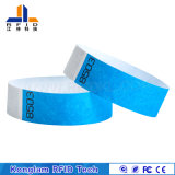 Wristband de papel portable modificado para requisitos particulares de Color& RFID para el hospital