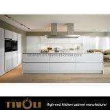 明白で白いSolidwoodの食器棚のシェーカーの食器棚はTivo-0261hを卸し売りする