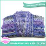 As empresas de fios de lado os padrões de tricotar suéter lenços de Fios de lã