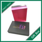Fabricante luxuoso UV da caixa de cartão do ponto do logotipo