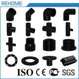 ISO4427 Fornecimento de água preta Acessórios de tubos de plástico HDPE