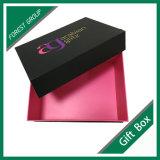 Constructeur de luxe UV de boîte en carton d'endroit de logo