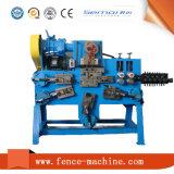 Alambre de metal que forma la máquina