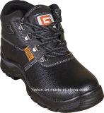 Тисненые кожаные + полные туфли с эластичным ботинком с высокой лодыжкой и лодыжкой