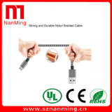 Micro поручая кабель данным по USB франтовского кабеля вахты поручая