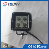 Indicatore luminoso del lavoro degli accessori 12W 20W LED dell'automobile del LED per la jeep