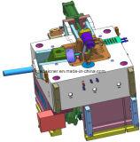Moldes de fundición de alta presión de las piezas mecánicas y eléctricas