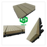 Colorful Waterproof Outdoor Decoration Balcony WPC Floor Tile