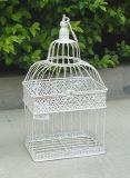 Insieme antico di bianco del metallo di &⪞ Apdot; /S Re⪞ Gabbia di uccello del giardino del ferro di Wrough di groviglio per Wedding De⪞ Oration Ts05 G00 C00 X00 Pl08-584&⪞ Aret; G