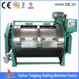 Máquina de lavar roupa industrial completa de 100kg Full Ss Laundry para tecido / roupa de linho / vestuário de pano