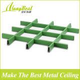Decorando idéias 3D materiais de acabamento do teto de grade de alumínio para decoração de interiores