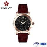 OEM Dame Van uitstekende kwaliteit Luminous Watch met Roze Gouden Kleur