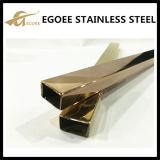 Tubo del acero inoxidable del tubo del cuadrado del acero inoxidable del tubo del acero inoxidable 304