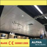 Положение алюминия на ом потолке металла ложном декоративном крытом