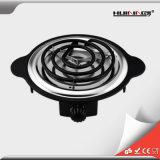 Piastra riscaldante del singolo bruciatore elettrico per cucinare