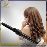 3 en 1 intercambiables pelo moldeador y secador de pelo Plancha de hierro plano y estética cabello cepillo caliente