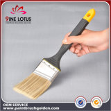 Cepillo de pintura de goma de la maneta del color doble material suave de PBT&Pet de la alta calidad