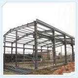 Edificio de la estructura de acero para el taller y el almacén