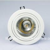 最もよい価格によってトライアックのDimmableの引込められる穂軸LED軽いDownlight