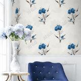 Gebildet China-in der preiswerten Preis-Großverkauf-Wand-Papier-Wohnzimmer-moderner Entwurfs-Blumen-Tapete 3D