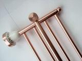 Pendente dell'oro Conjoined amo di Bt125 Rosa che difende la cremagliera di tovagliolo del bagno