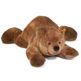 Giocattolo su ordinazione di menzogne della peluche dell'orso della peluche del bambino