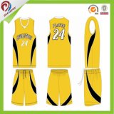 Uniforme reversible sublimado aduana del baloncesto/baloncesto Jersey y cortocircuitos