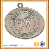 Античной покрынное бронзой медаль Taekwondo заливки формы