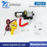 Guincho elétrico off-Road de ATV com telecontrole Corded (2000lb-1)