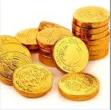 Cubierta de la moneda del chocolate de la alta calidad Htl-200A y máquina del nudo