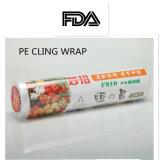 PE는 플라스틱 감싸는 필름 깔판, 식기를 위한 필름 포장 재료 음식 급료 PE 뻗기 필름 달라붙는다
