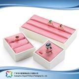 Caja de embalaje de madera/del papel de lujo de la visualización para el regalo de la joyería del reloj (xc-dB-013b)