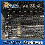 Correia transportadora de fio de metal com a corrente lateral para a indústria do alimento e do tratamento térmico